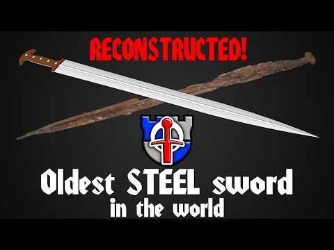 The Oldest STEEL Sword In The World, Vered Jericho Sword Of Ancient Israel RECONSTRUCTED