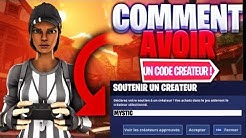 TUTO : AVOIR LE CODE CREATEUR FORTNITE / Fortnite Battle Royale FR