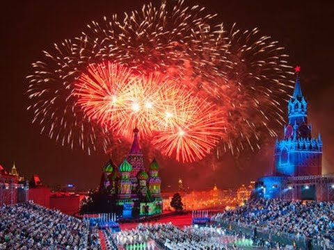Москва 2016г. День города 869 лет!Салют!!  Moscow 2016 . 869 years !! Firework!!