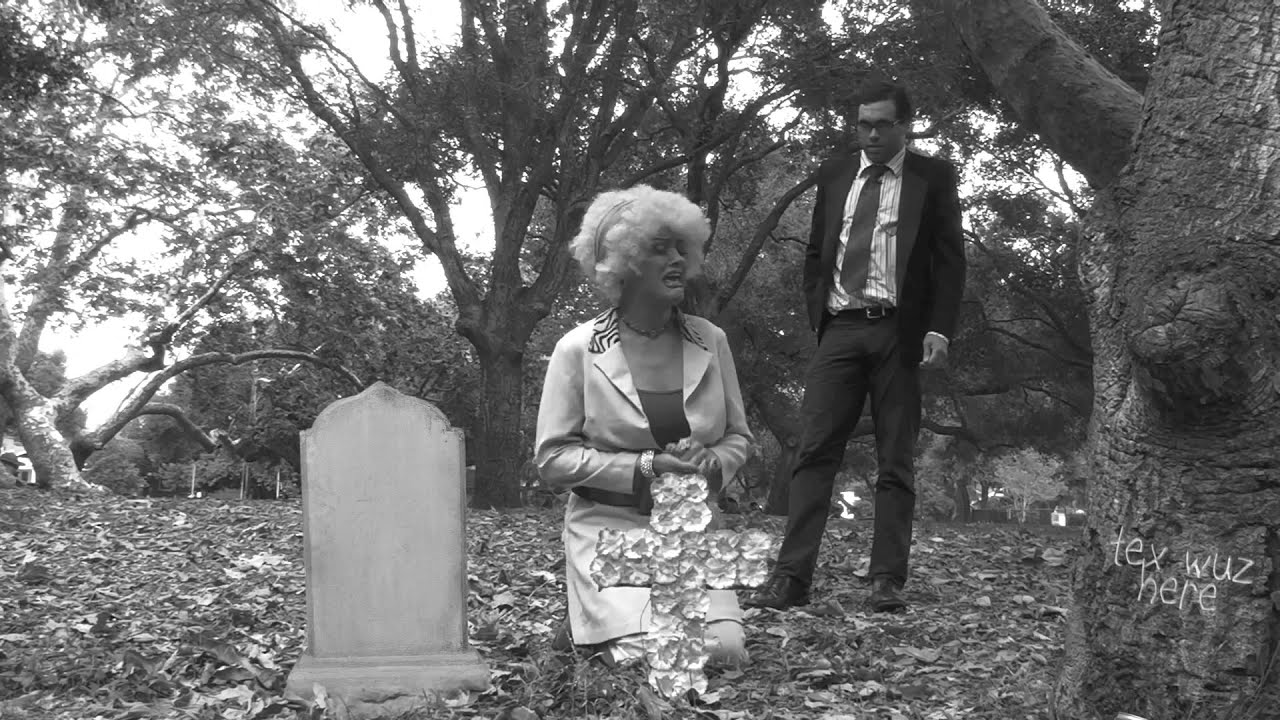 Night Of The Living Dead Parody Spoof Opening Cemetery