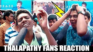 Thalapathy Fans வெறித்தனம்"