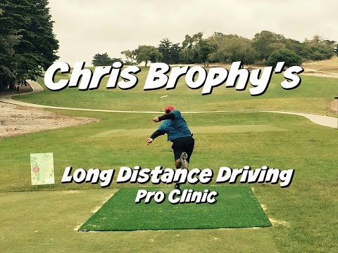 Disc Golf Pro Clinic – Long Distance Driving w/ Chris Brophy