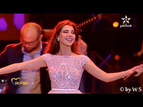 نانسي عجرم بمهرجان موازين 2014 | Nancy Ajram - Mashy Haddy