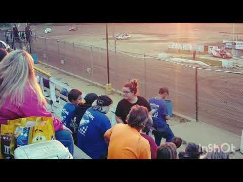 Steve shellenberger heat race win 6/2/18