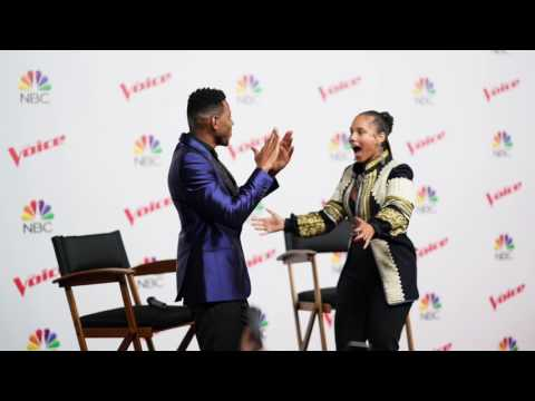 EXCLUSIVE Interview with The Voice Winner Chris Blue & Coach Alicia Keys