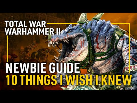 10 Things I Wish I Knew Before Playing Total War: Warhammer II - A Newbie Guide