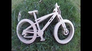 Велосипед из дерева ,своими руками