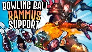 KALISTA THROWING BOWLING BALL RAMMUS SUPPORT!! - Off Meta Monday - League of Legends
