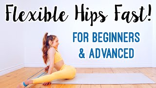 How to get Fleאible Hips Fast