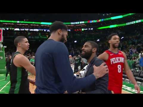 New Orleans Pelicans vs Boston Celtics | December 10, 2018