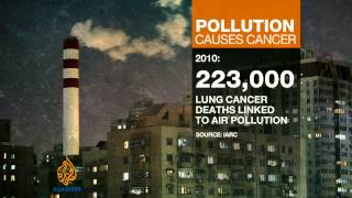 Repeat youtube video WHO: Air pollution leading cause of cancer