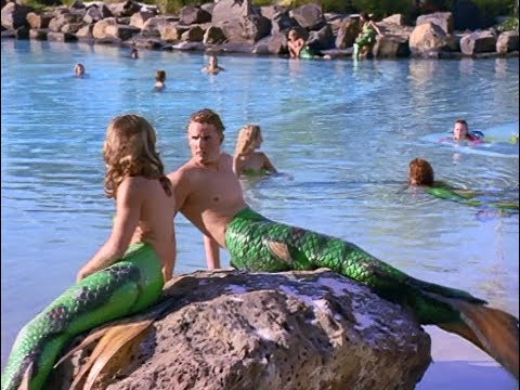 Sabrina visits Mermaid Cove