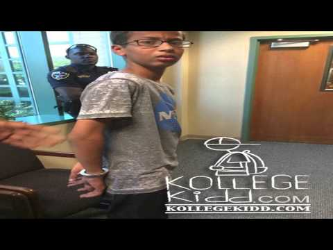 Muslim Student, Ahmed Mohamed, Arrested After Homemade Clock Was Mistaken For Bomb