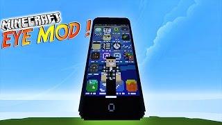 "Présentation du mod ""EYE MOD""! - Un IPOD dans Minecraft ! [1.7.10][1.7.2]"