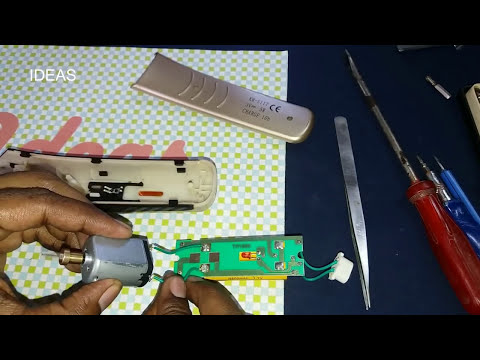 How To Repair Kemei Trimmer Motor | IDEAS