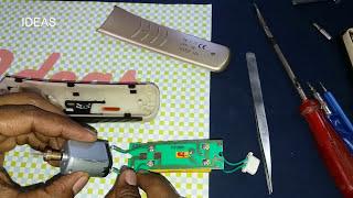 How To Repair Kemei Trimmer Motor | IDEAS