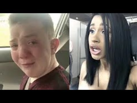 Cardi B REACTS ABOUT A KID GETTING BULLYING IN SCHOOL SAD STORY :(