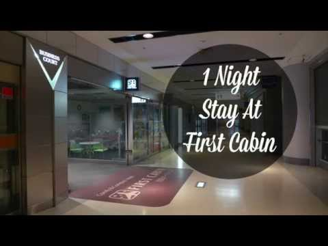 1 Night Stay @ First Cabin (Haneda Airport)