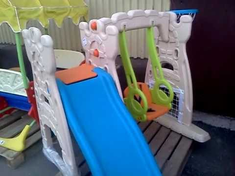Детский спортивно игровой комплекс Малыш (от года до 6 лет) BABY ROOM Одессаиз YouTube · Длительность: 5 мин8 с