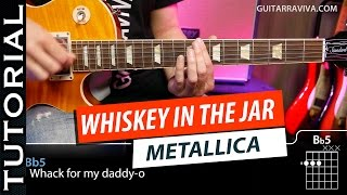 Cómo tocar Metallica Whiskey In The Jar en guitarra | Guitarraviva