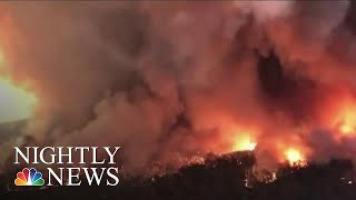 Dozens Of American Firefighters Join Australian Fire Crews At Front Lines | NBC Nightly News