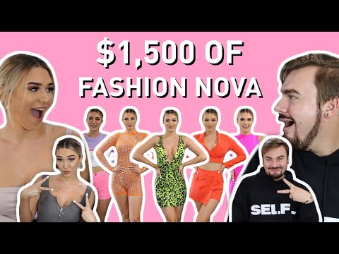 Michael Brutally Rates My Fashion Nova Outfits