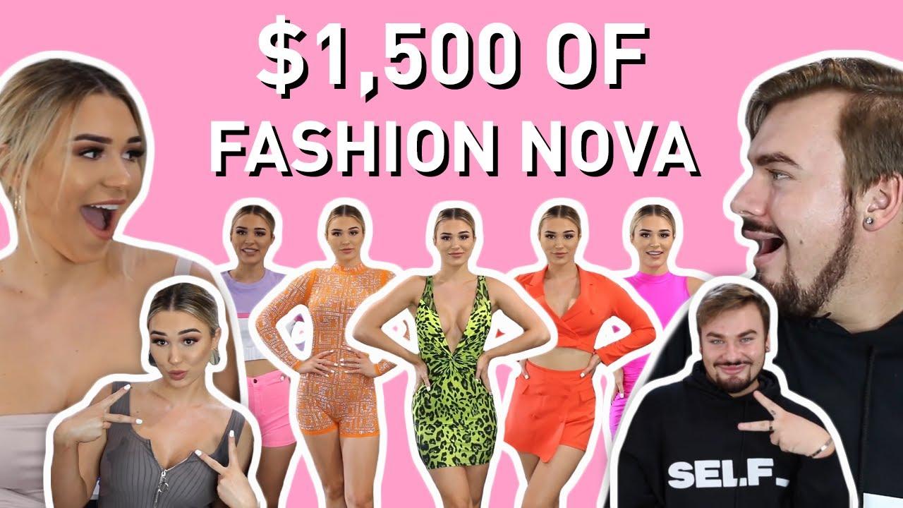 Michael Brutally Rates My Fashion Nova Outfits