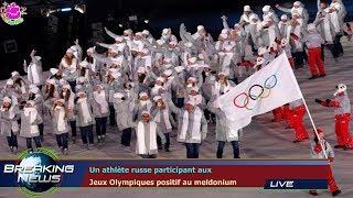 Un athlète russe participant aux  Jeux Olympiques positif au meldonium