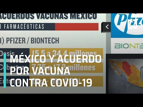 Los acuerdos de México con empresas para obtener la vacuna contra COVID-19 - Despierta