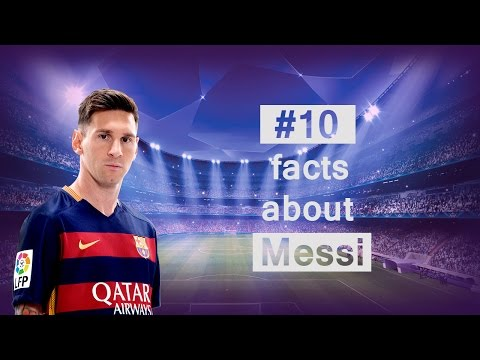 Lionel Messi  - 10 Facts About Messi You Should Know
