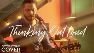 Repeat youtube video Thinking Out Loud - Ed Sheeran (Boyce Avenue acoustic cover) on Apple & Spotify