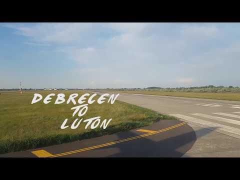 WIZZ Air Flight Debrecen to Luton