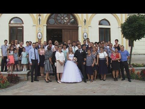 Edit és Norbert esküvői felvétele (Hotel Medián, Hajdúnánás)