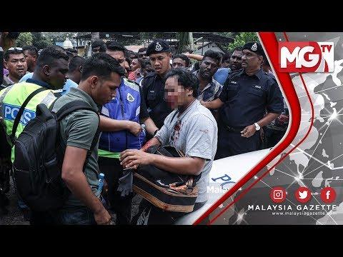 TERKINI : Situasi Tegang Polis Dan Masyarakat India Di Kuil Sri Mariammam
