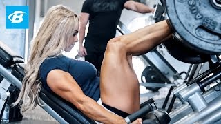 Hypertrophy Leg Workout | Stephanie Sanzo aka StephFitMum thumbnail