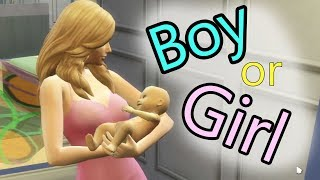 Boy or Girl ? The Baby Is Here !!! SIMS 4 Family Game Let's Play  Video Part 67