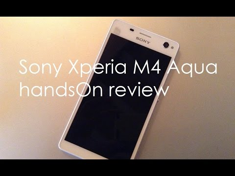 Sony Xperia M4 Aqua Dual Review Videos