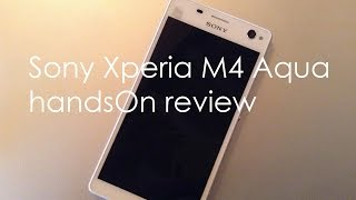 Sony Xperia M4 Aqua Review Videos