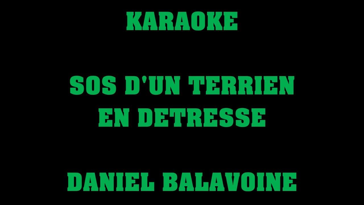 Sos D Un Terrien En Détresse Daniel Balavoine Karaoke Chords Chordify