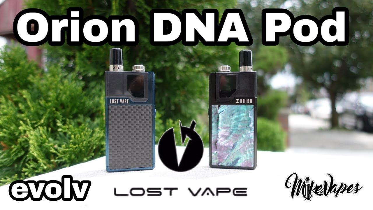Lost Vape Orion DNA GO Chip Pod Vape Full Review- Escribe Tutorial - Mike  Vapes