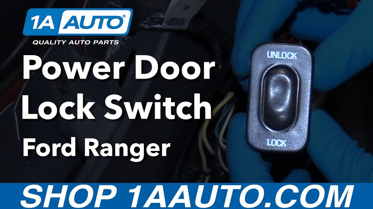 small resolution of how to replace door lock switch 98 12 ford ranger ford ranger
