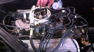 1965 Mustang K Code 289 HiPo - Vergaser einstellen !