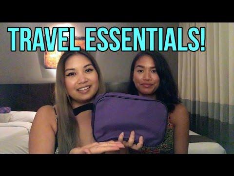 Travel Essentials! #OcampoPhilippines2016 Edition