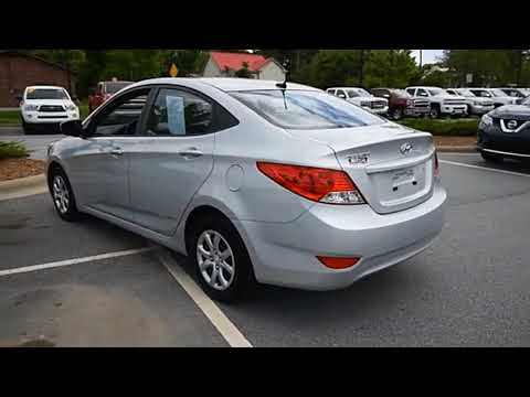 2013 Hyundai Accent Hendersonville NC A17886