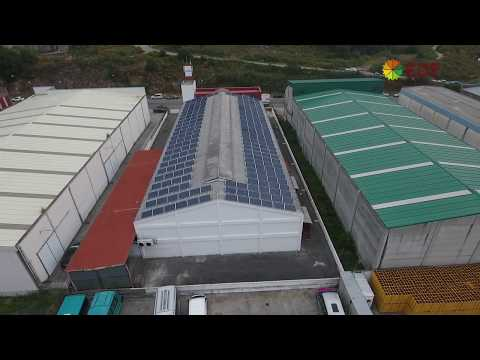 Instalación de autoconsumo industrial en Frigoríficos VYS II - EDF Solar