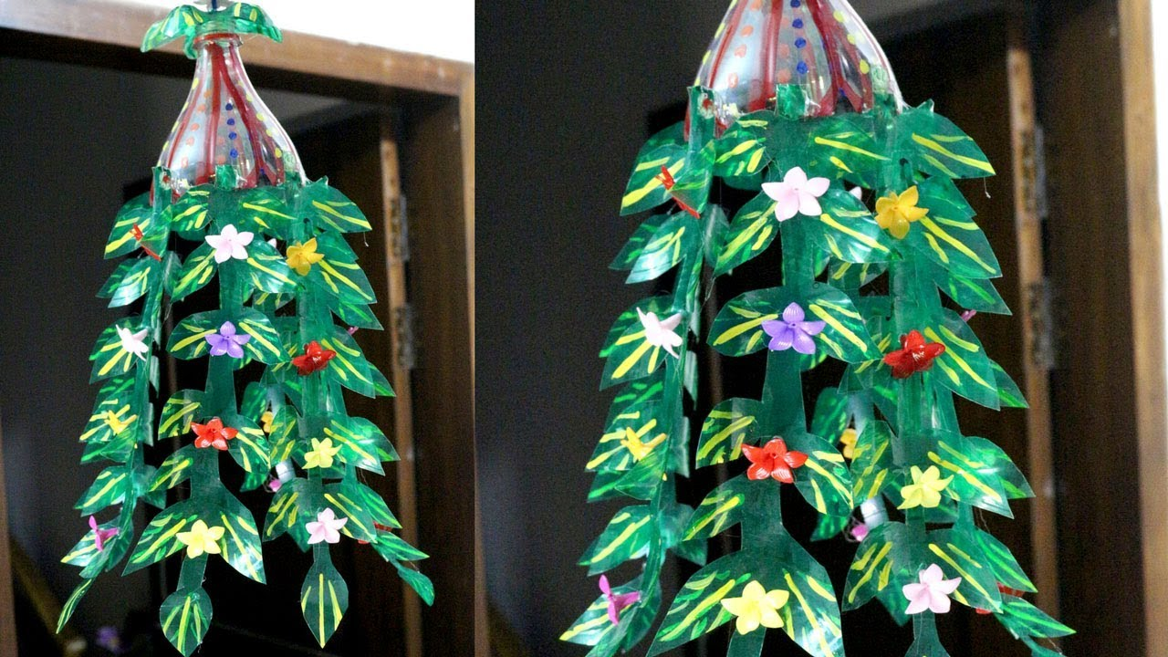 Plastic bottles recycling how to recycle plastic bottles for Plastic bottles decoration pieces