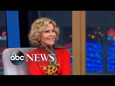 Jane Fonda on dating when famous: 'People come looking for you'