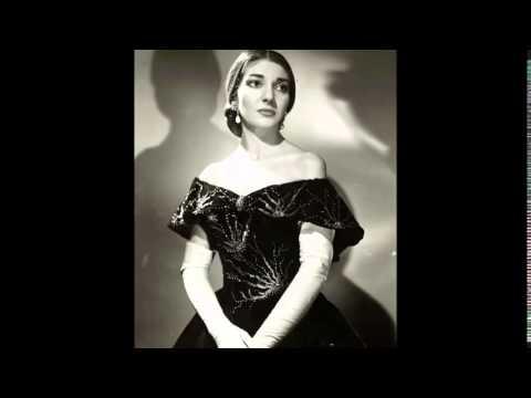 María Callas- Ave Maria - Aria de Desdemona - opera Verdi Otello