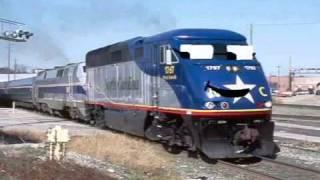 Samuel Wassup amtrak trains.mov