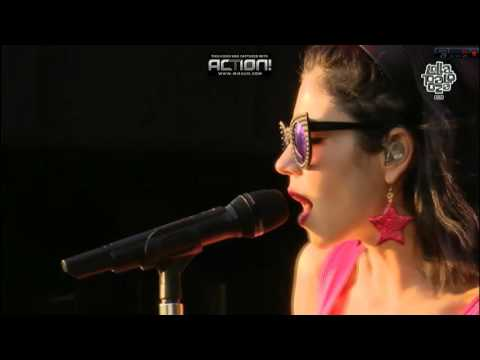 Marina and the Diamonds (Can't pin me down/I'm a ruin) - live Lollapalooza CHILE 2016 HD